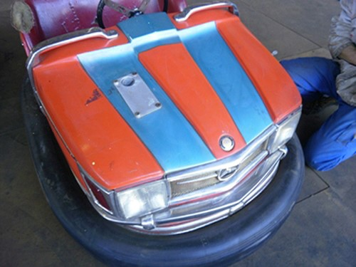Der stolze Blick einer Mercedes Chaise von 1970.